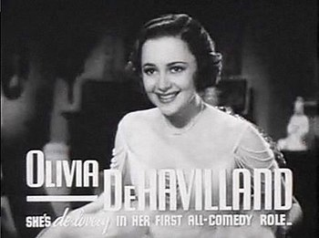 Screenshot of Olivia de Havilland from the fil...