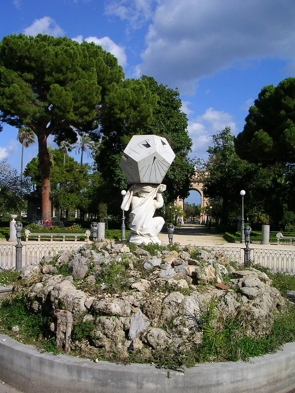Villa Giulia Palermo Wikipedia
