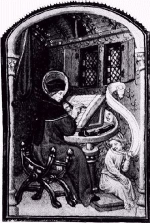 Paul Pierce within an illustration of a Mediæv...