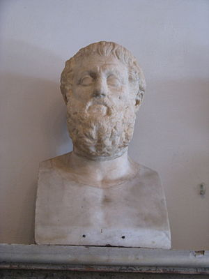 Bust of Sophocles at Musei Capitolini.