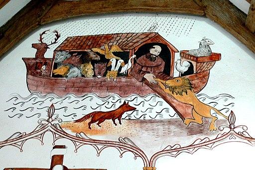St.Teilo - Innen 7b Malerei