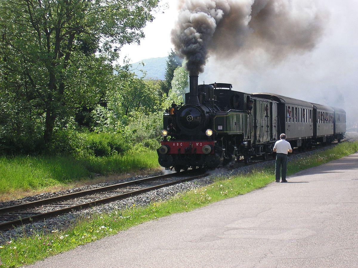 """Résultat de recherche d'images pour """"Train à vapeur Thur Doller"""""""