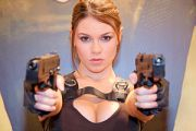 Alison Carroll, the official Lara Croft model ...
