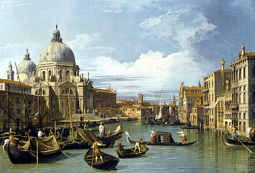 Canaletto Entrance to the Grand Canal Venice
