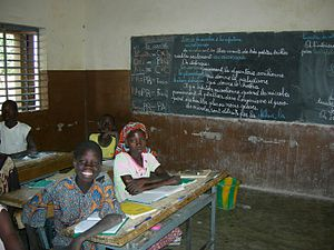 Burkina Faso: primary school in Dourtenga
