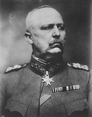 Erich Ludendorff, German general.