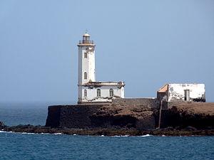 Farol D. Maria Pia. Cidade da Praia - Ilha de ...