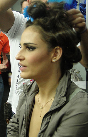 Backstage Monange Dream Fashion Tour 2010, Rio...