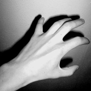 Hands from the dark