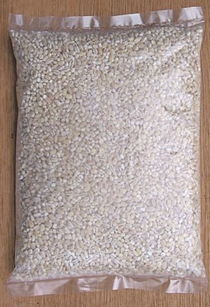 English: Pearl barley (Hordeum vulgare) Deutsc...