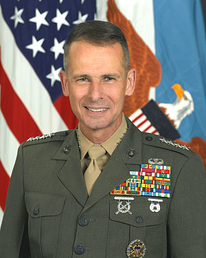 U.S. Marine Corps General Peter Pace, Chairman...