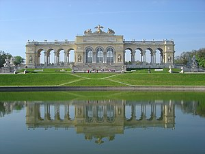 English: The Gloriette in Schloß Schönbrunn, V...