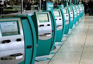 English: Dublin International Airport, Ireland...