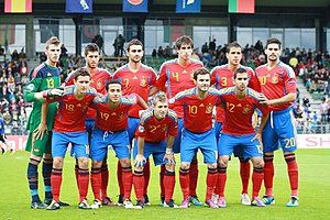 Spain national under-21 football team at 2011 ...