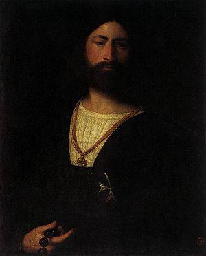 Titian (Tiziano Vecellio)- A Knight of Malta