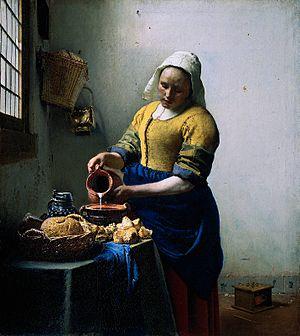 Vermeer Melkmeid