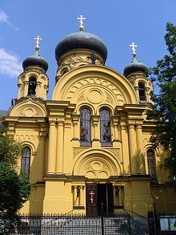 Warsaw metropolitan orthodox church st Maria Magdalena