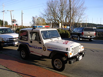 A WVPD vehicle, outfitted for the D.A.R.E. pro...