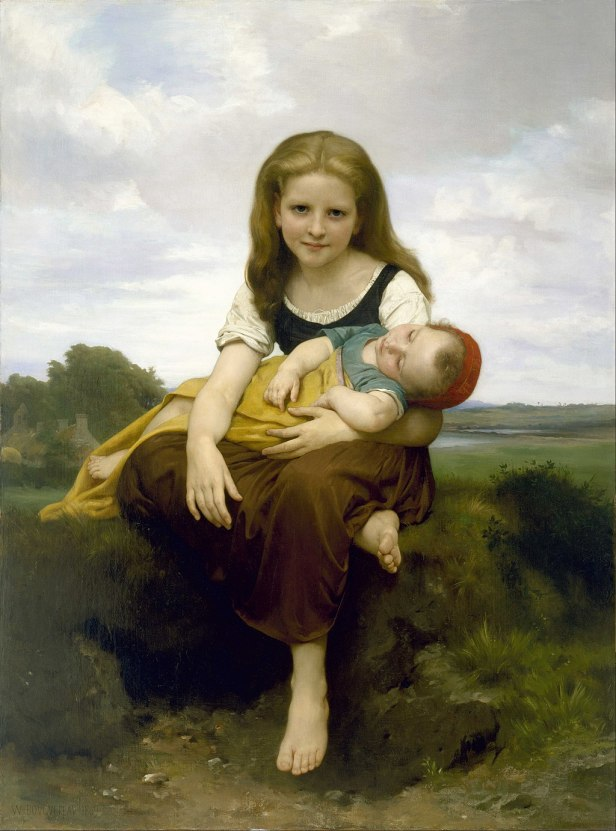 William Bouguereau - The Elder Sister - Google Art Project