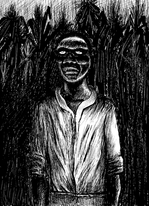 A zombie in Haiti