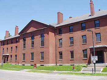 Divinity Hall, Harvard Divinity School, view f...