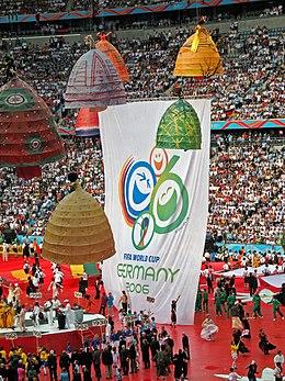 Ceremônia de abertura da Copa do mundo de Futebol de 2006, em Munique.