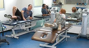 Spc. Jlynn Johnson (right), U.S. Army Health C...