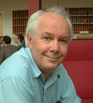 Ian Stewart (mathematician). Taken by Stewart'...