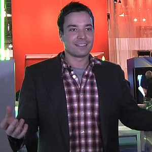 English: Jimmy Fallon CES 2009 in Las Vegas, NV
