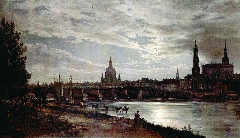 Dahl - Blick auf Dresden