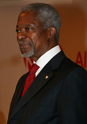 Kofi Annan. Former United Nations Secretary-Ge...