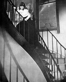 The Spiral Staircase 1946 Film Wikipedia | Spiral Staircase Los Angeles | Loft | Handrail | 42 Inch | Romantic | Double Spiral