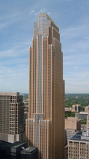 Pelli's Wells Fargo Center, Minneapolis, Minne...