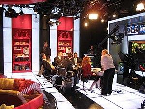 FOX Business Network's studio