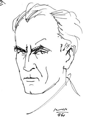 עברית: Aba Fenichel Self Portrait