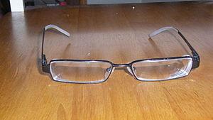 Modern pair of glasses