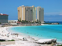 Cancun in Quintana Roo. Mexico is the 2nd most...