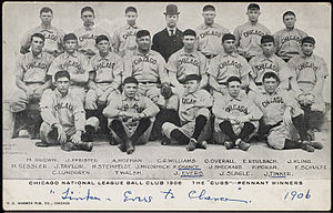 The 1906 Cubs won a record 116 of 154 games. T...