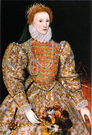 "The ""Darnley Portrait"" of Elizabeth ..."