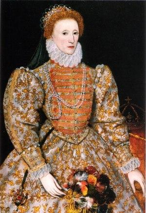 """English: The """"Darnley Portrait"""" of E..."""