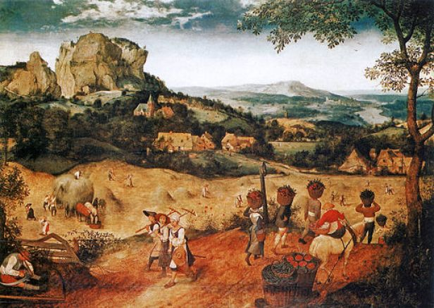 """The Hay Harvest"" by Pieter Bruegel, the Elder"