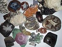 Different Minerals