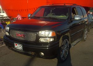 GMC Yukon photographed in Montreal, Quebec, Ca...
