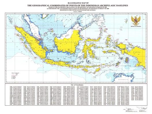 Peta ikhtisar skala 1:600.000 atau lebih besar dipakai untuk menentukan track dari satu tempat ke tempat lain sebelum dipindah ke peta yang lebih besar. Laut Teritorial Indonesia Wikipedia Bahasa Indonesia Ensiklopedia Bebas