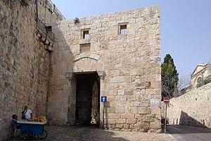 Jerusalem, Ziongate, Townside Deutsch: Jerusal...
