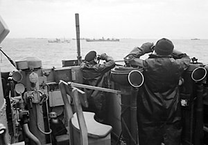 On lookout for U-boats in the Second Battle of...