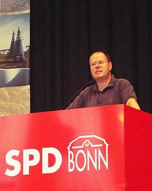 Peer Steinbrück, NRW-Ministerpräsident a.D.