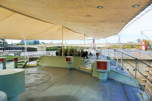 Queensland Maritime Museum - Joy of Museums - HMAS Diamantina (K377) 4
