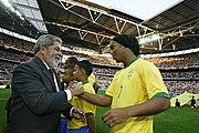 Ronaldinho with Brazilian President Lula