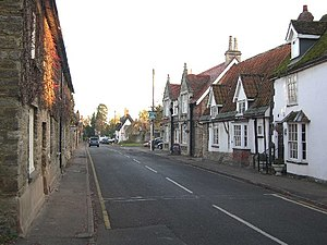 English: Sharnbrook High Street.